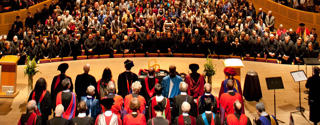Convocation 2017 From Back of Chan Centre