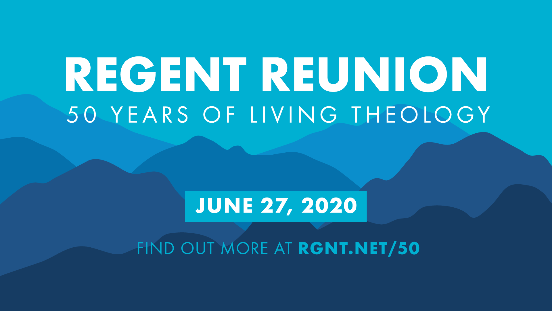 Regent College 50th Reunion